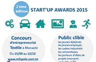 Textile Monastir START 'UP Awards 2015