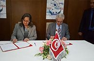 Signature d`une convention de partenariat entre l`ATT et la foire internationale de Sousse